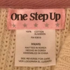 One Step Up Jackets & Coats - Button-Up Knit Sweater